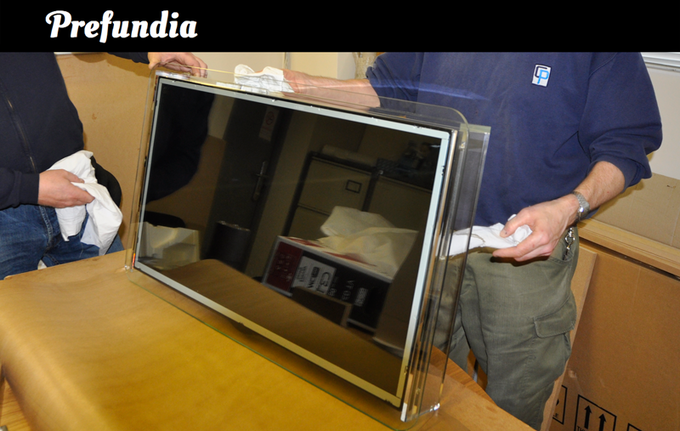 The prototype as displayed on Prefundia