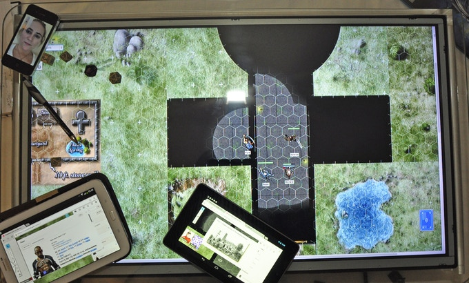 Game-play using Roll20