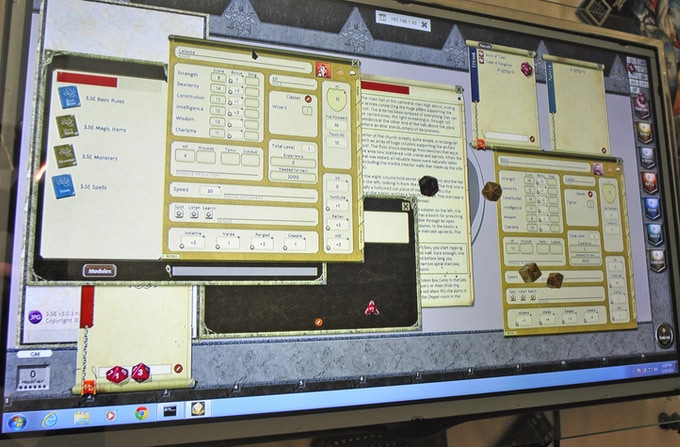 mini-PC and Fantasy Grounds (screen-share)