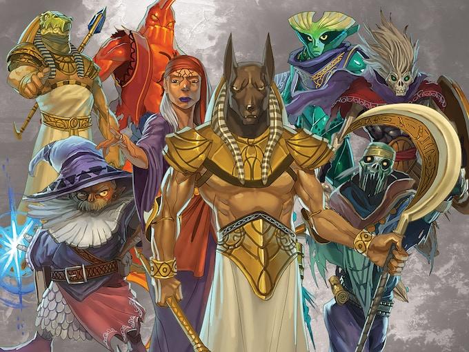 12 realms ancestors legacy by mage company �kickstarter