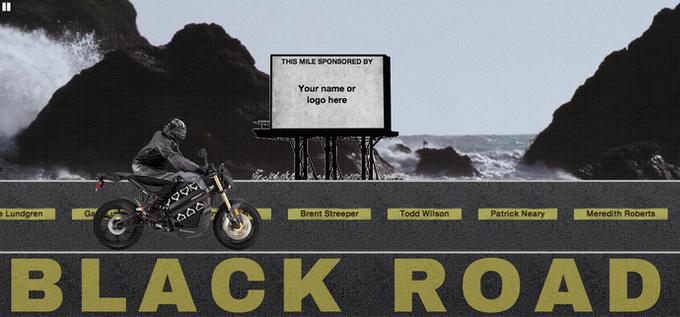 Click to view the Black Road Sponsors & Supporters thank you page