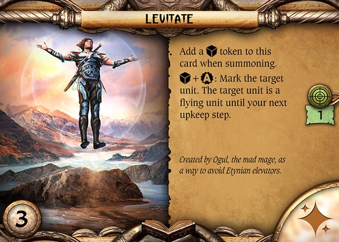 Spell layout.