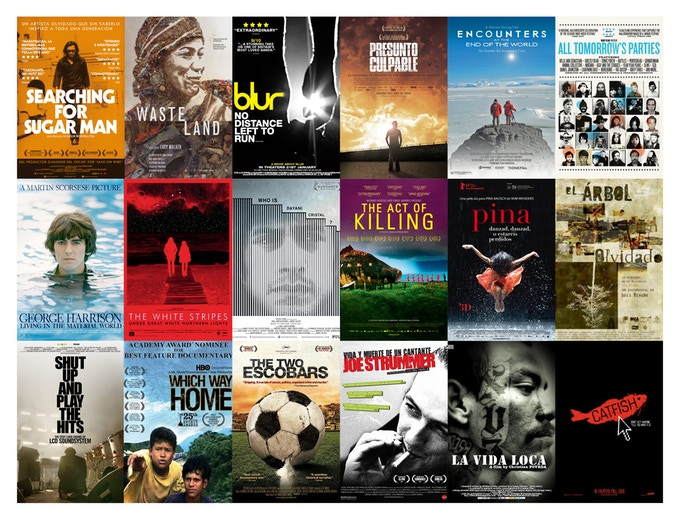 Just a few of the documentaries that Ambulante has toured in the past.  Click on image to go to archive.