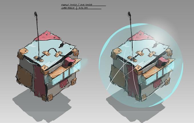 Robot Shield Upgrade