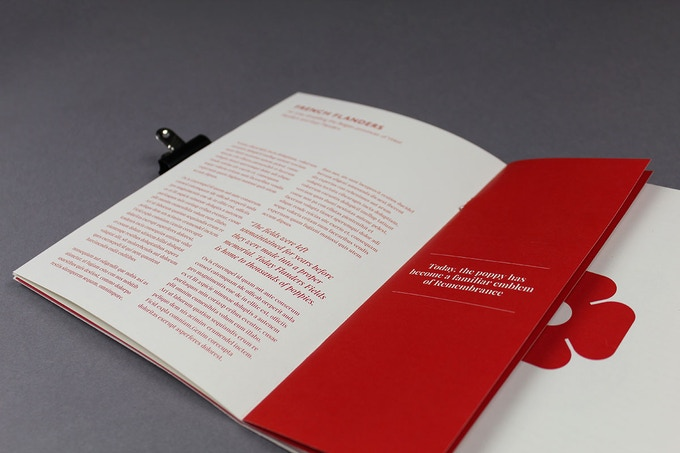 The hand-bound printed publication gives backers a feel of whats to come