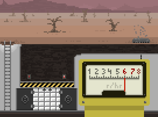 Monitor those radiation levels with a working Geiger counter!