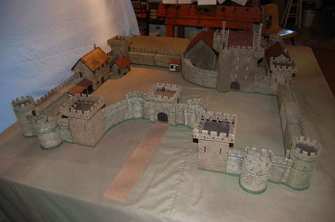 Design flexibility is key to castle layout.
