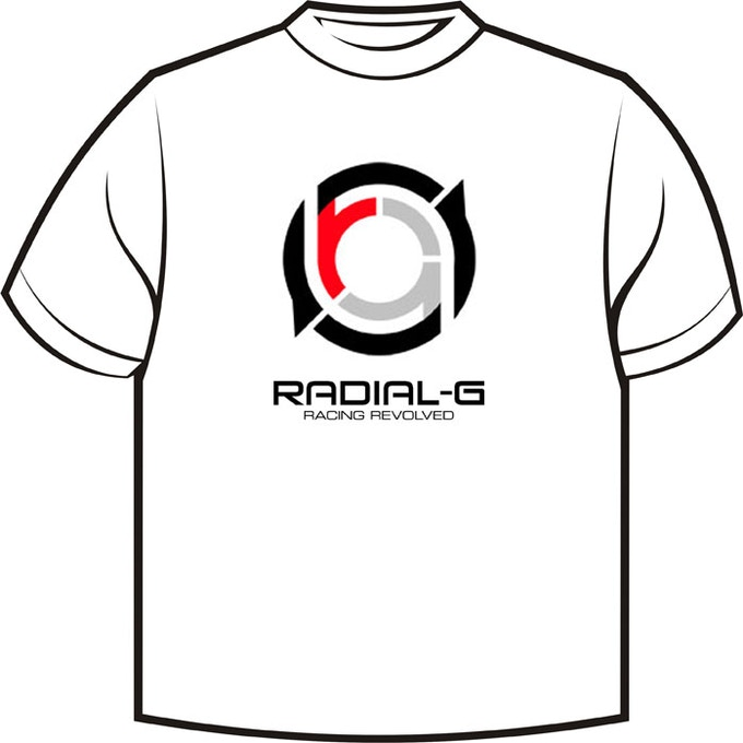 Radial-G : intended design of exclusive backer t-shirt