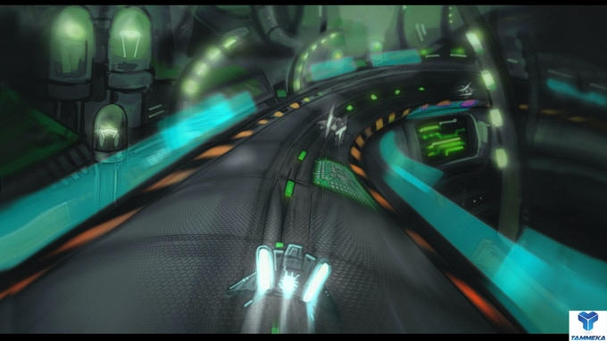 Radial-G : single player demo concept art
