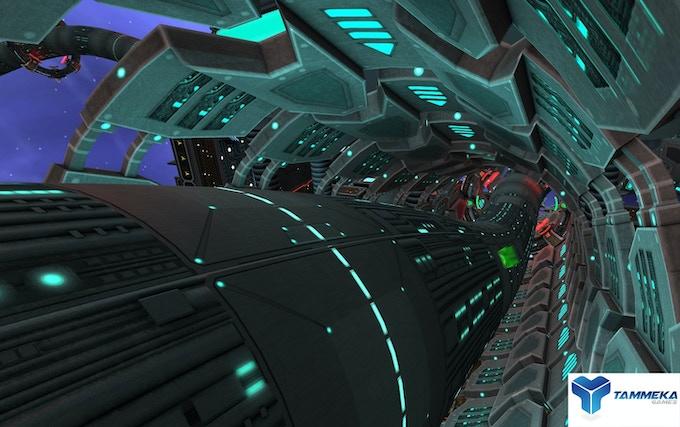 Radial-G : tubular tracks for complete 360-degree motion