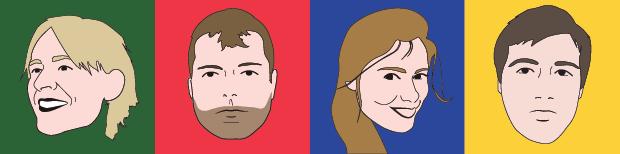 The Team: Jimbob, Klayton, Charlotte & Chris