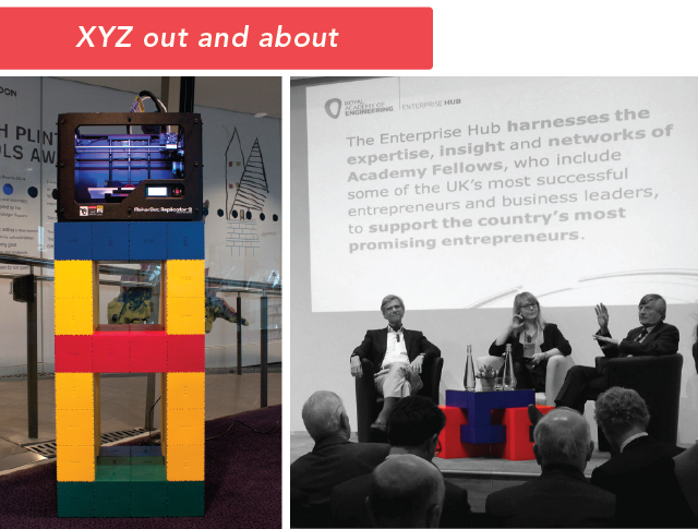 XYZ at London City Hall and the Royal Academy of Engineering.