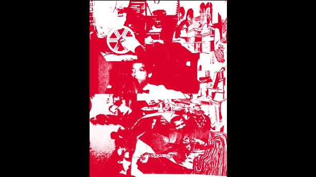 """""""Three Red X's, Two Red Lines"""" by DC area native, and 2004 Whitney Biennial participant Santiago Cucullu (limited ed. of 3). 16 x 22 unframed screen print signed by artist. Inspired by and made especially for Punk the Capital."""