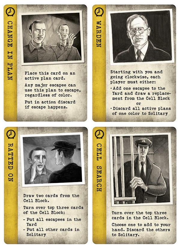 Escape From Alcatraz A New Mystery Rummy Game By Gryphon