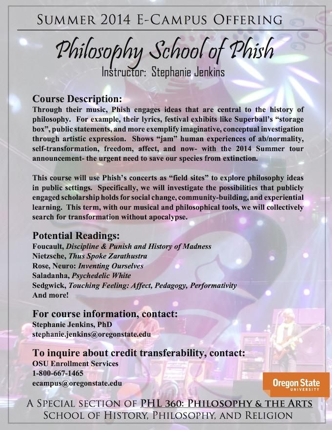 PHL 360 Course Flyer