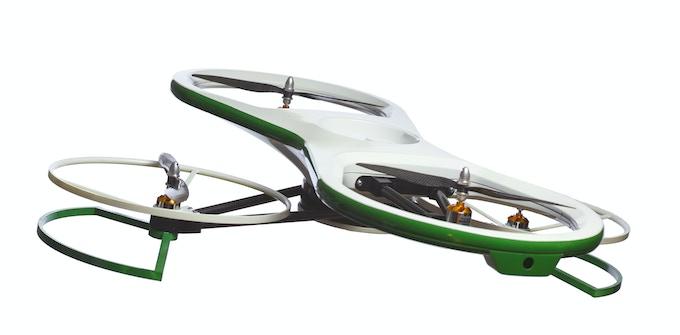 Skyteboard in fly mode