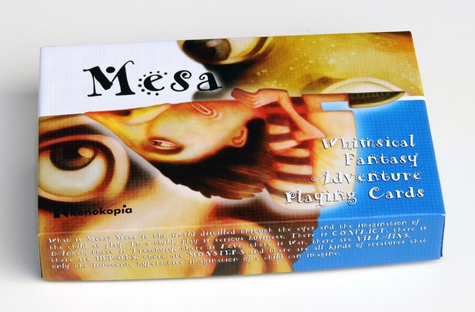 The Mesa Double-decker comes with 72 Character cards. I have printed samples of the cards and they look great.