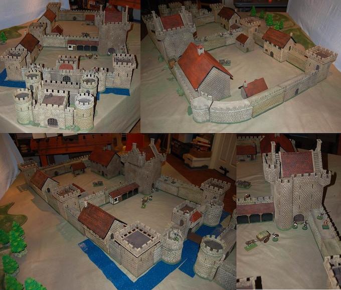 Sample layout for Large Castle pledge level