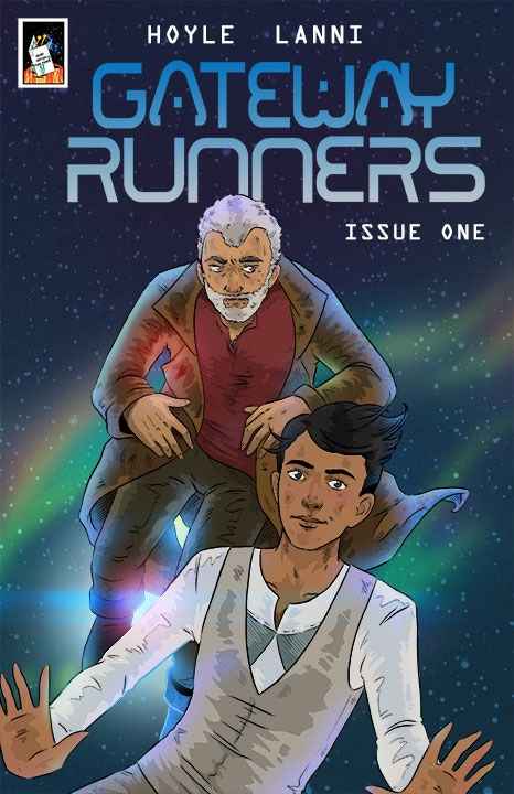 Main cover to issue 1. Art by Ashley Lanni