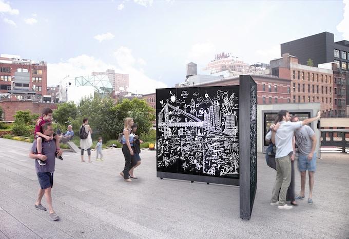 Scratchbox on the Highline*