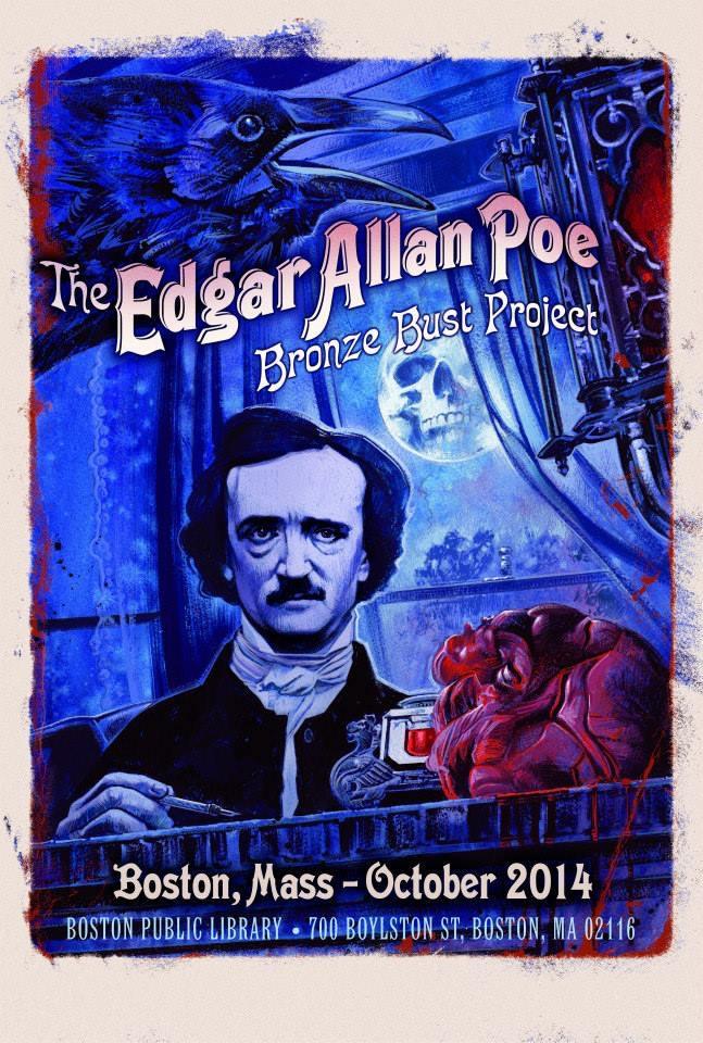 Edgar Allan Poe Bronze Bust Project