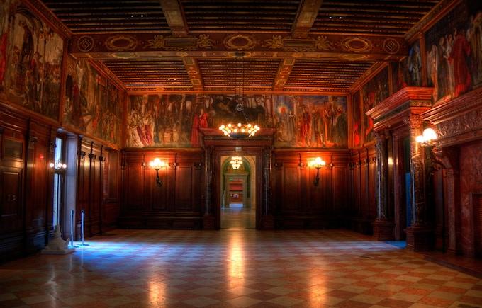 Abbey Room, Boston Public Library