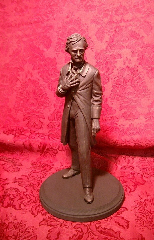 Poe statuette by Bryan Moore!