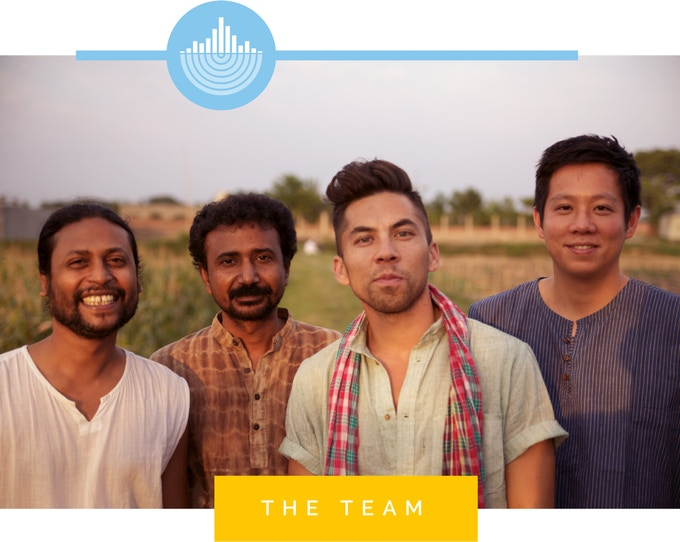Or at least some of us! Kanak (designer + production manager at Deshal), Sabuj (production manager at Deshal), Stephen (designer), and Albert (transparency manager)