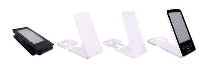 Evolution of design case (From left to right)