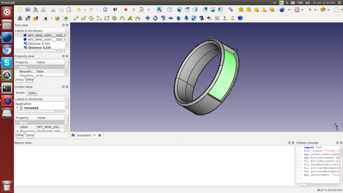 NFC Ring by John McLear — Kickstarter