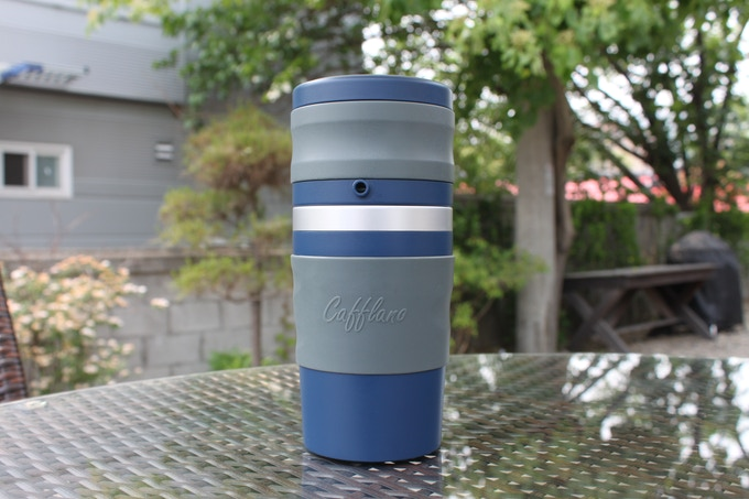 [Pic 7] Second mock-up version of Cafflano All-in-one Tumbler