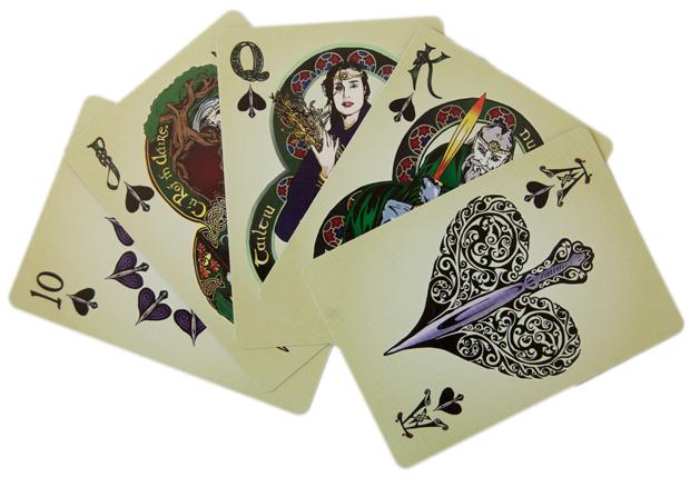 Symmetrical Deck (Order & Healing) - Spade Royal Flush