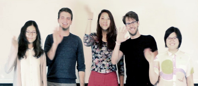 The Scratchbox Project Team says Hi! (L-R: Yvonne Chang, Ben Jones, Jae Lee, Caio Barboza, and Nat Kwee)