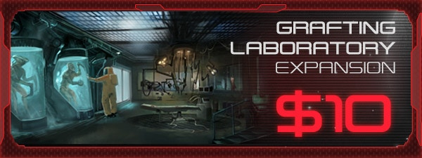If you'd like the Grafting Lab Expansion, just add $10 to your pledge by clicking Manage Pledge from the XenoShyft Onslaught Kickstarter page, and we'll sort it out after the Kickstarter ends with our pledge manager.