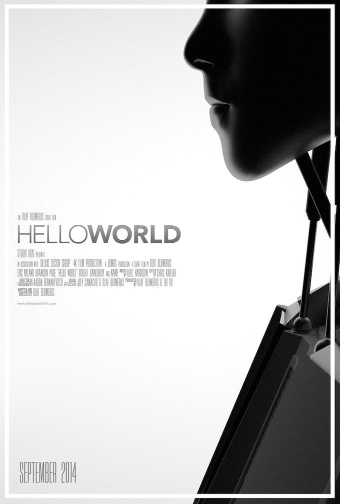 Hello World Concept Poster