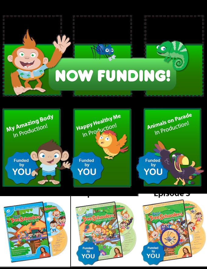 Rachel & the TreeSchoolers- Too Educational for TV? by Rachel