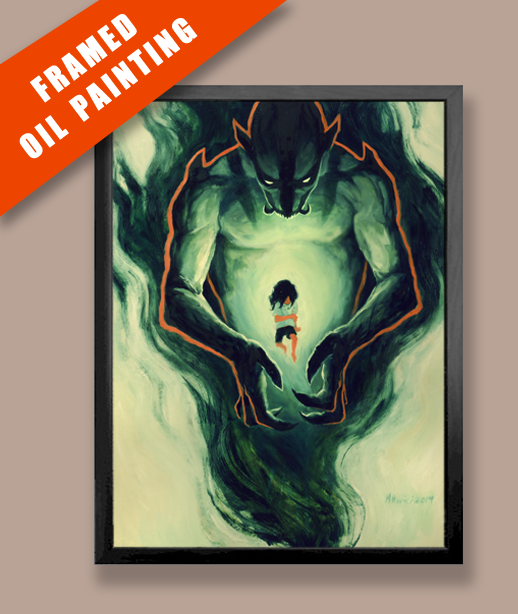 Variant Cover - Oil Painting Reward