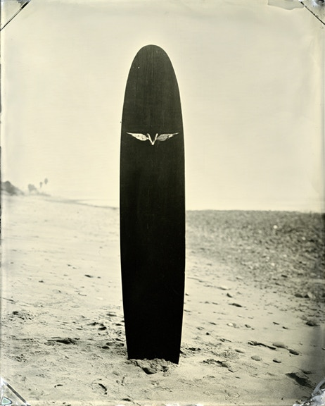 Shared Board Cause To Pause: SURF SITE TIN TYPE By Joni Sternbach