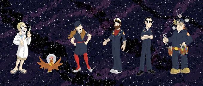 The (Animated) Crew!