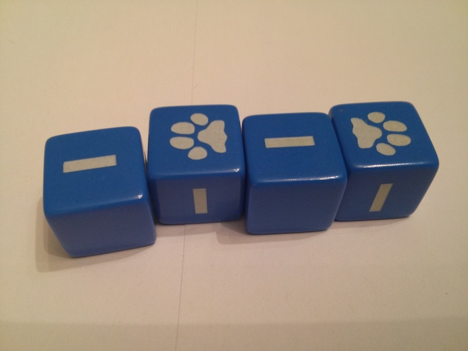 Four dice per set!  You're ready to play!