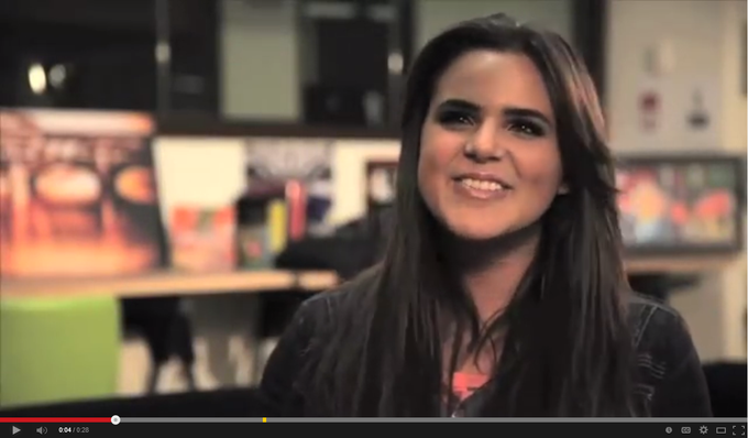 "WATCH - Nickelodeon's Isabella ""Grachi"" Castillo talks about working with Eddie Blazquez"