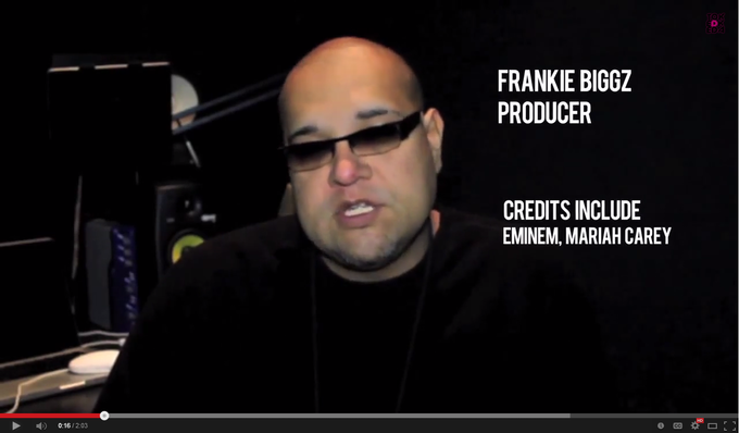 WATCH - Grammy winner Frankie Biggz talks about working with Eddie Blazquez