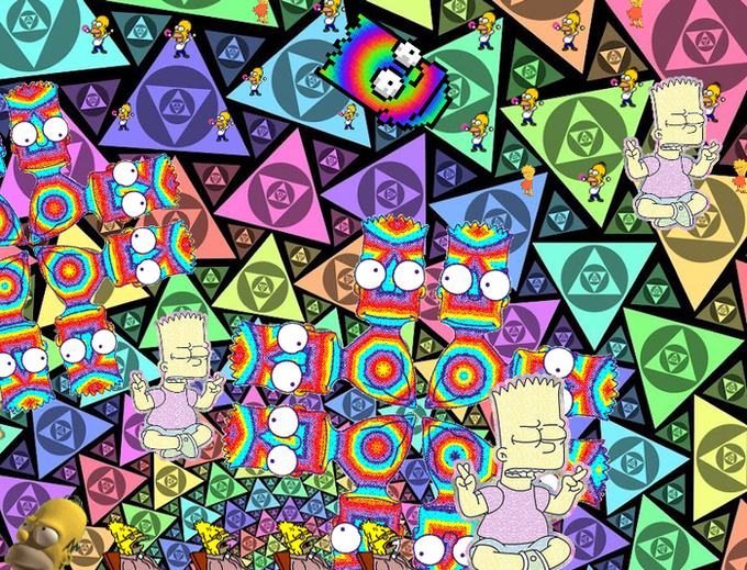 Psychedelic Simpsons