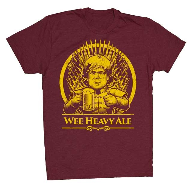 T-Shirt in House Lannister Colors