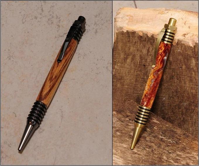 Spartan Click Pens