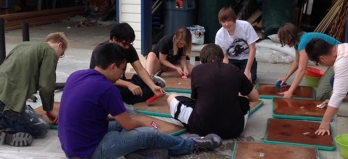 Complete High School Volunteers