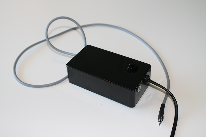 The first functional prototype of the ASMO charger.