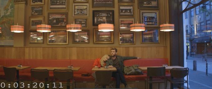 Maika Monroe and Matt O'Leary in BOKEH