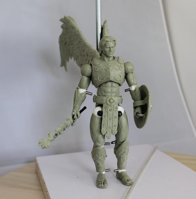 7 inch Archangel Michael action figure