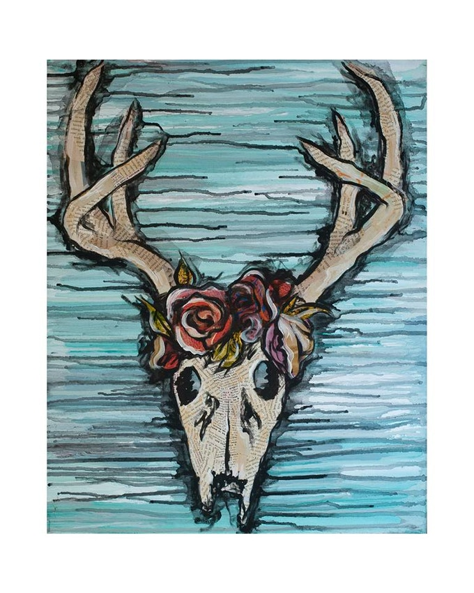 DEER HALO LIMITED EDITION PRINT • $50 (small) $75 (large)
